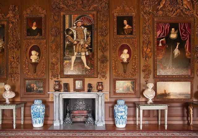 The Carved Room - Petworth House (42)   Woods, Room and House