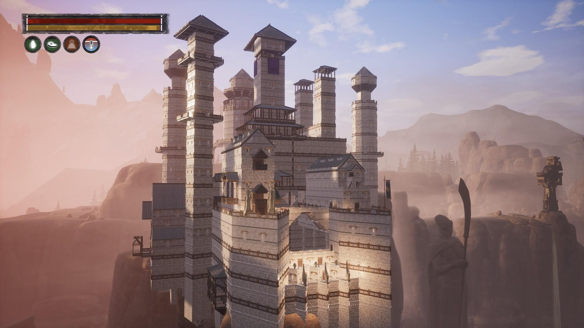 I Created The Eyrie From Game Of Thrones Architectxiles Conanexiles Conan Exiles Conan The Barbarian Survival Games