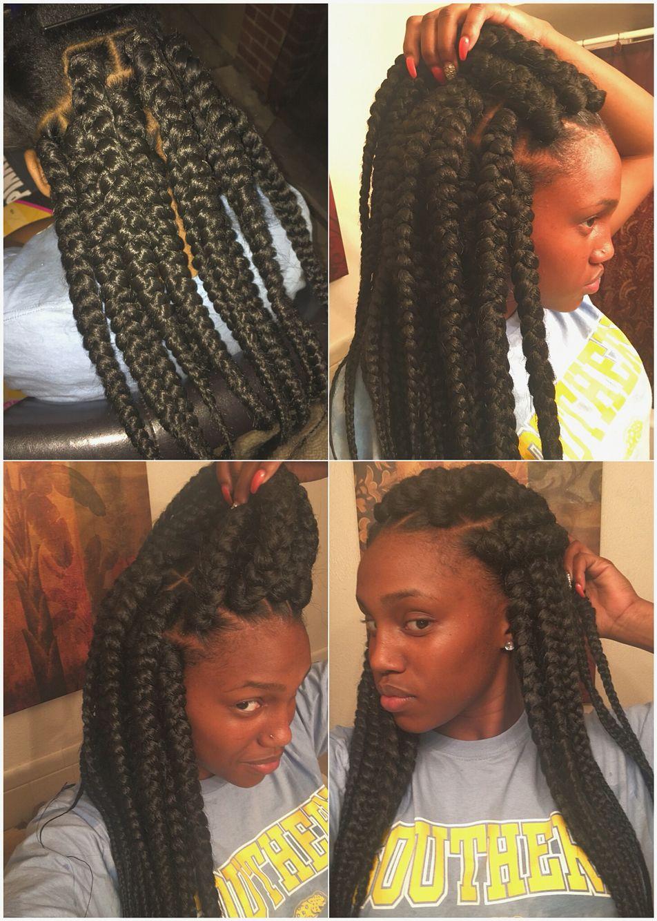 Boxbraids jumbobraids hair and beauty pinterest jumbo braids