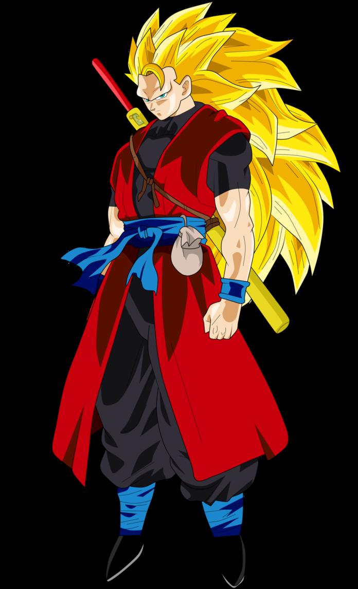 Goku Xeno Super Saiyan 3 by Frost-Z