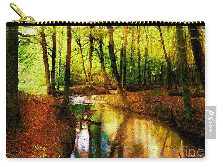Carry-All Pouch - Abstract Landscape 0747