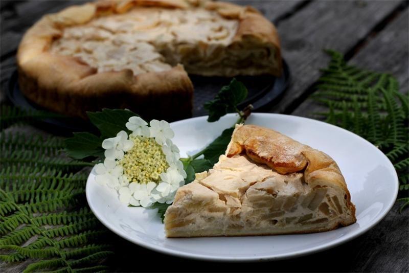 Яблочный пирог Вульфов: рецепт — Москва — VilingStore.net