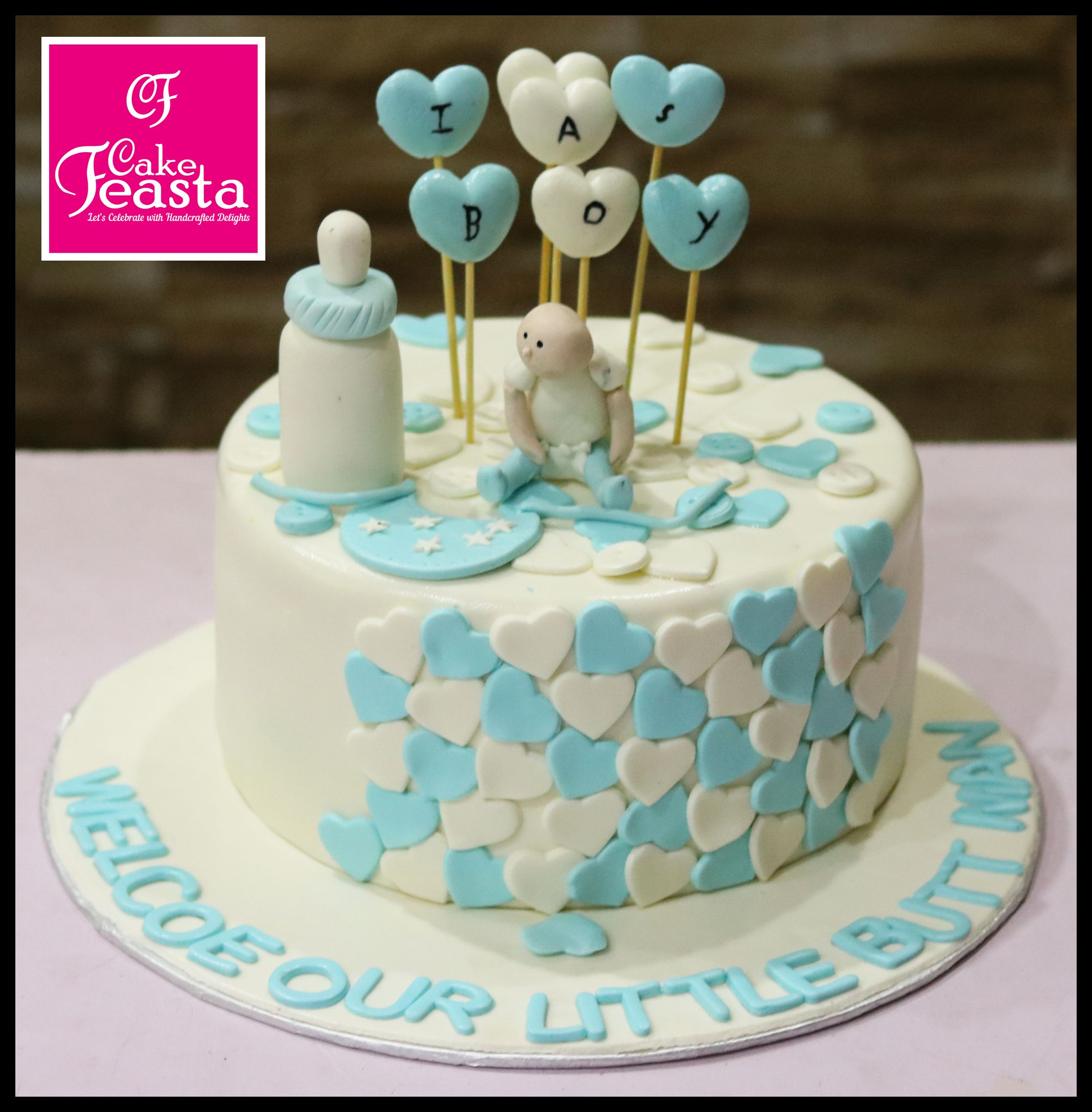 Baby shower boy cake in 2020 baby shower cakes for boys