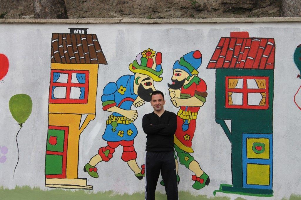 Duvar Boyama Hacivat Karagoz Duvar Sanat Gorsel Sanatlar