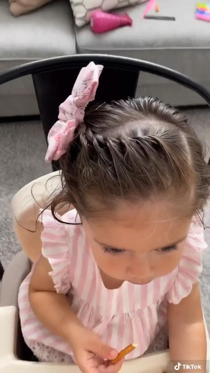 Adorable and easy Twisted Braid!