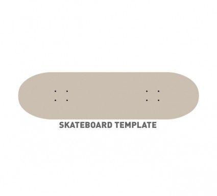 Skateboard Template Design Shrinky S Skateboards Graphic Art Adobe Ilrator