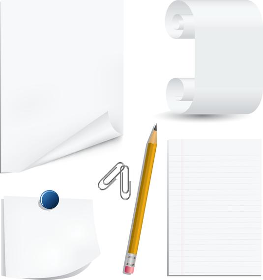 White Paper Clip And Pencil Clip Art Ad Aff Aff Paper Art Pencil White In 2020 Free Clip Art Clip Art Graphic Design Art