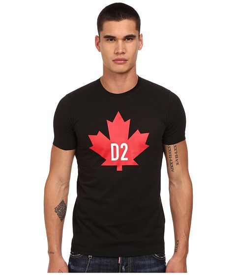 cf1eb6e584d DSQUARED2 Maple Leaf D2 Classic Fit T-Shirt.  dsquared2  cloth  shirts    tops