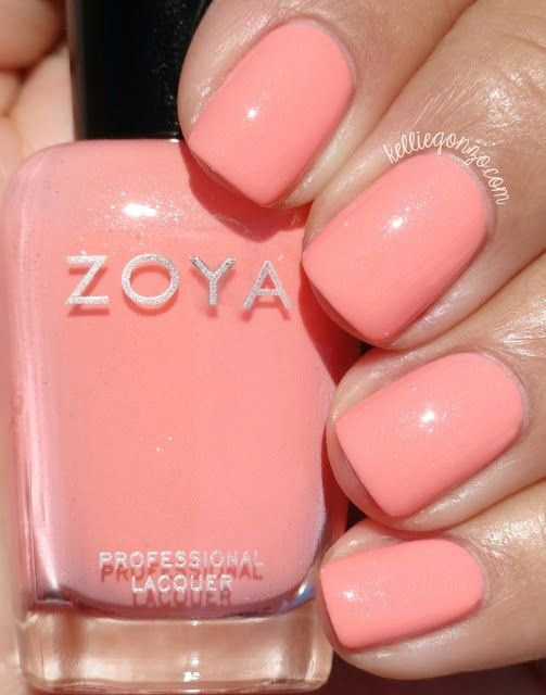 Zoya Nail Polish Colors Lovely Zoya Tulip Kelliegonzoblog My Nails
