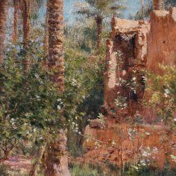 Étienne Dinet, GHARDAÏA LANDSCAPE