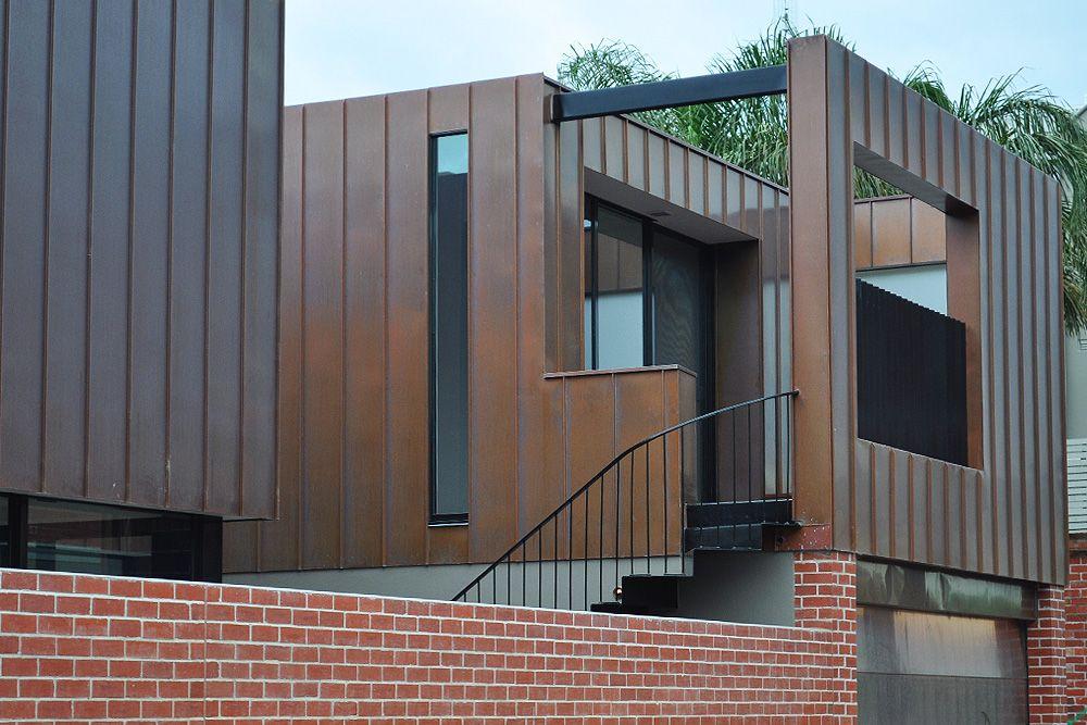 MC GREGOR ST MIDDLE PARK Architecture, Cedar cladding