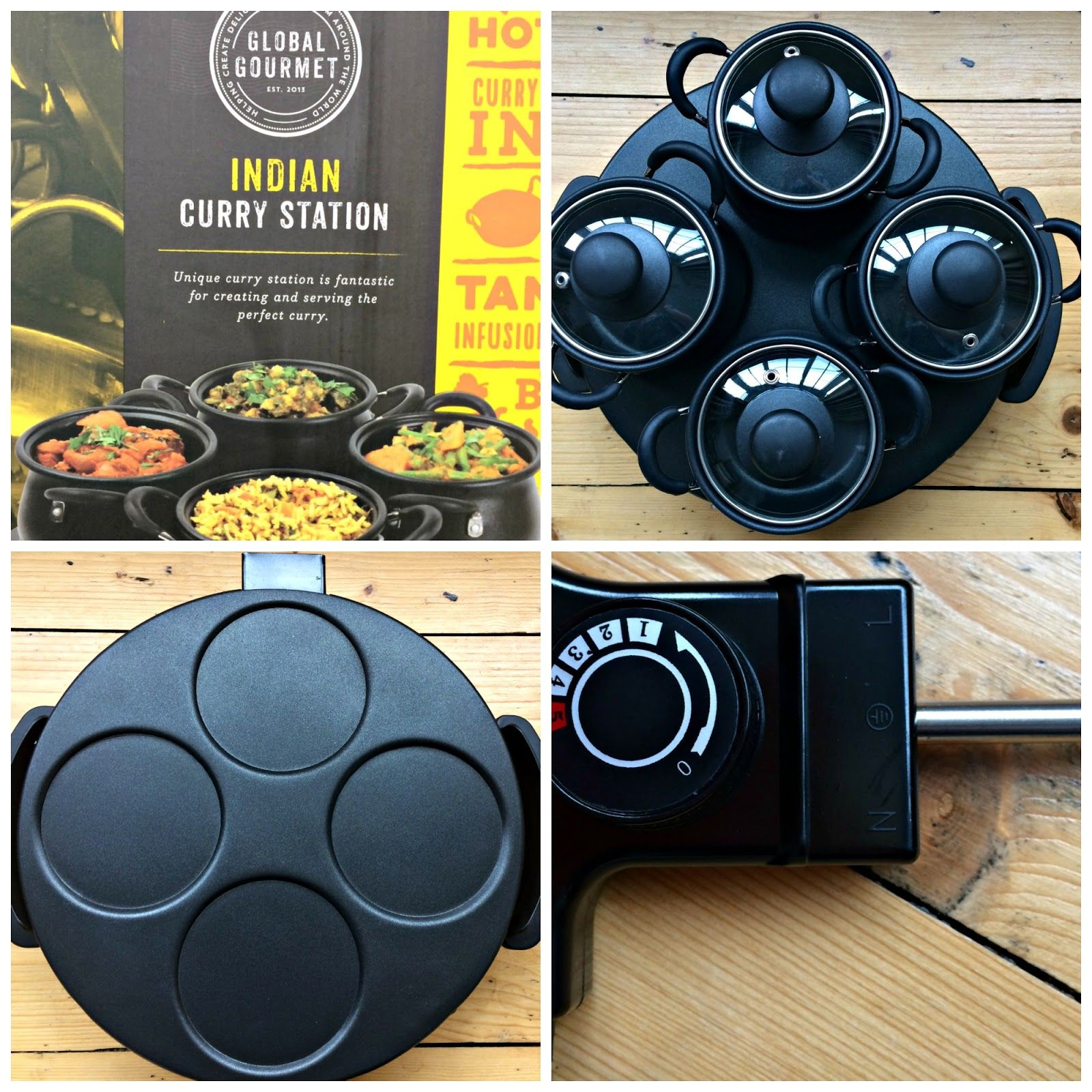 Global Gourmet Indian Curry Station By Sensio Home Review