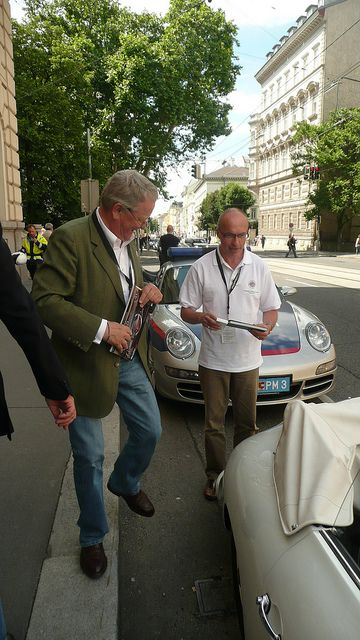 wolfgang Porsche & Larry by helengoff, via Flickr