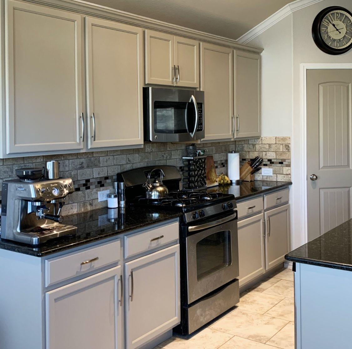 Taupe Kitchen Cabinets Taupe Kitchen Taupe Kitchen Cabinets Kitchen Remodel