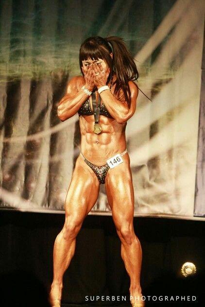 Chunri kim | Chun Li Kim | Muscle girls, Girl abs, Fit women