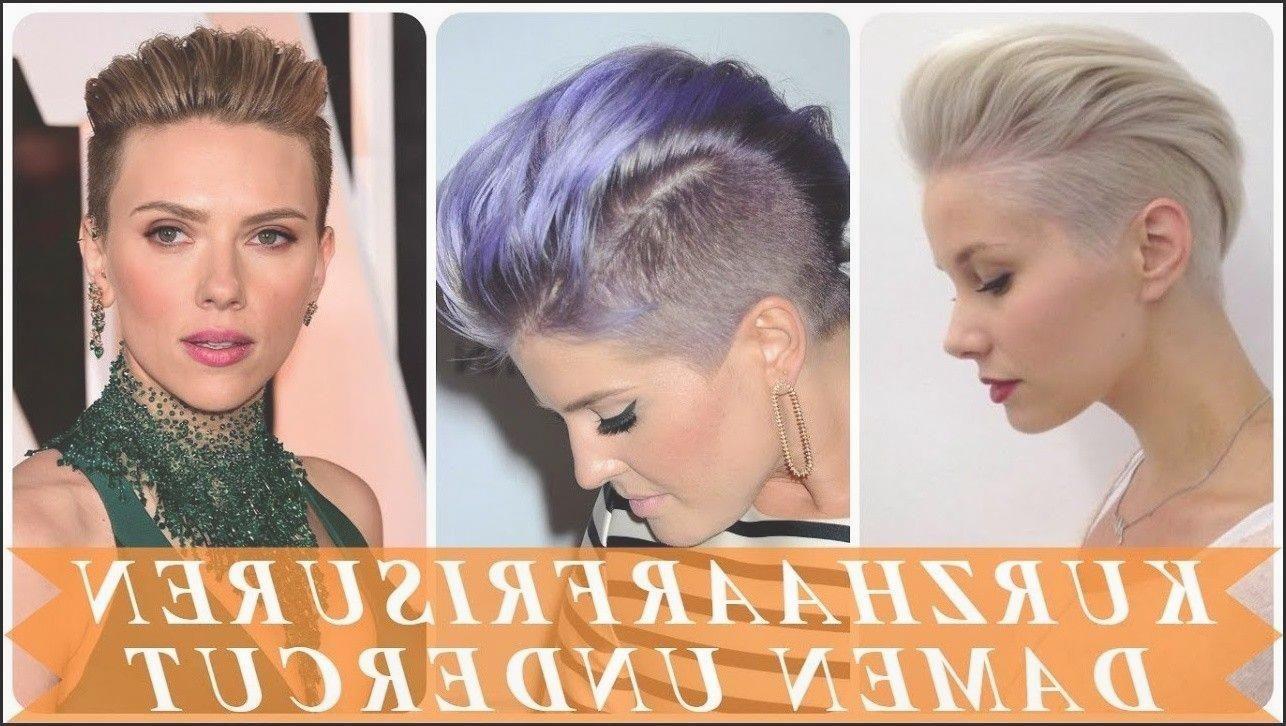 Schone Undercut Frisuren Frau Kurze Haare 2018 Youtube Frauen Haare Haarschnitt Stile Undercut Frisuren Frauen Kurzhaarfrisuren