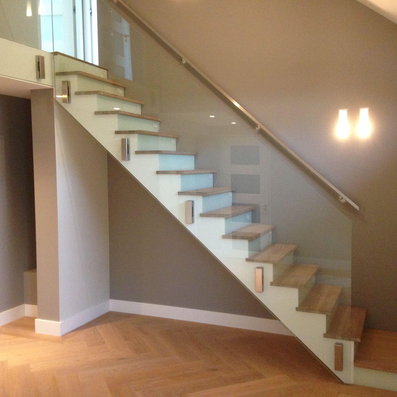 Hardglazen trappen en balustrades kopen