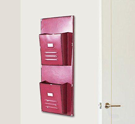 Janazala Wall Decor Metal Letters Holder For Living Room. Rustic ...