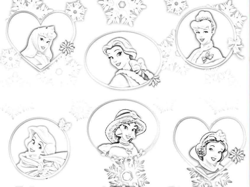 Principesse disney da colorare principesse disney da for Immagini da colorare walt disney