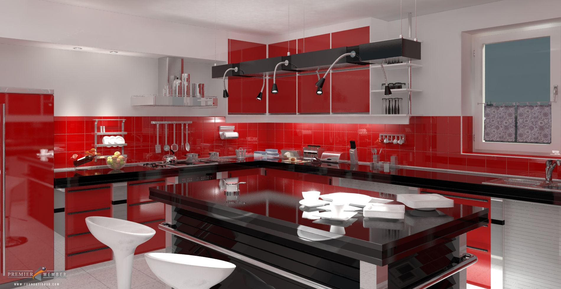 Good Looking Architecture Red Kitchen Jpg 1900 978 Kitchen Colors Red Kitchen Decor Kitchen Design Decor