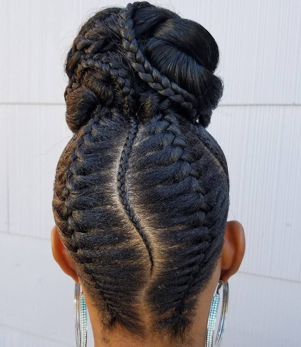 Watch 50 Updo Hairstyles for Black Women Ranging from Elegant to Eccentric video