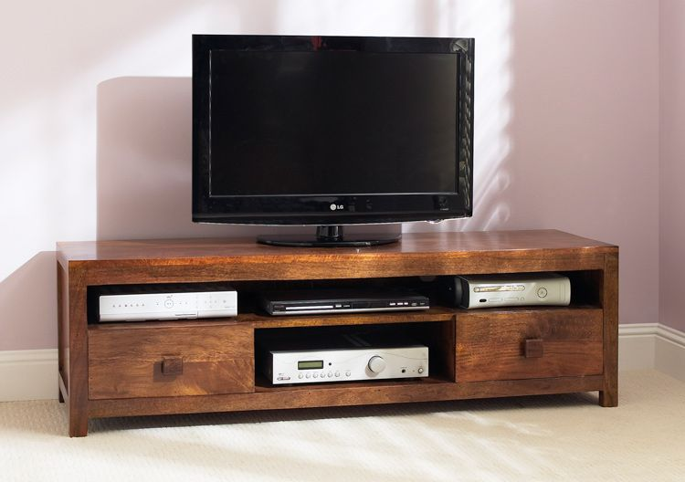 Great Satara Mango Dakota Large Media Unit 1 Dimensions (W X H X D) Overall: 150cm