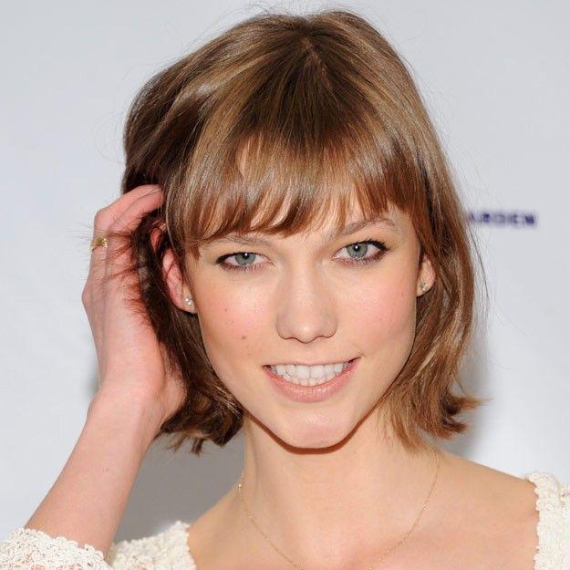 Melena corta a capas con flequillo muy corto buscar con google cortes pelo pinterest - Peinados melena corta ...