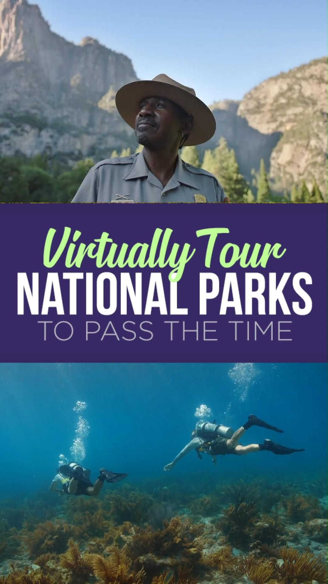 Google Arts & Culture teamed up with NPS to offer virtual tours of five great American national parks.