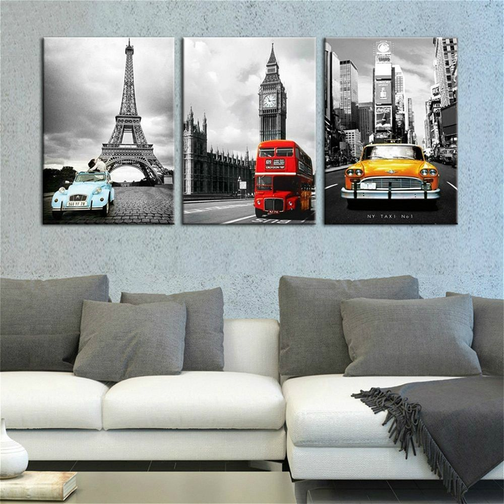 City Map Paris London New York Las Vegas Wall Art Canvas Painting Nordic Posters And Prints Wall Pictures For Living Room Decor Canvas Wall Art Set Living Room Art Prints Cities