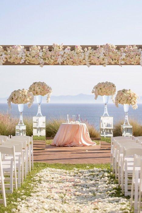 An Intertwined Event Blush Wedding At Terranea Resort Weddings Events