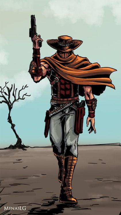 Erron Black Mortal Kombat Characters Mortal Kombat Art Mortal Combat