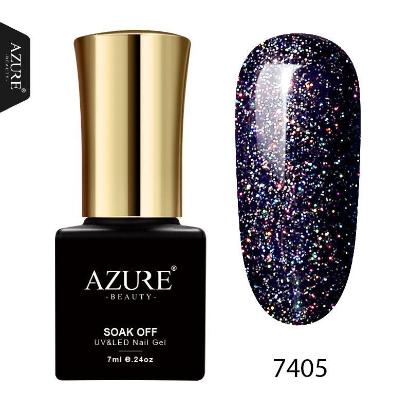AZURE BEAUTY 1Pcs 7ml Gel Paint Nail Polishes Soak Off Neon Gel ...
