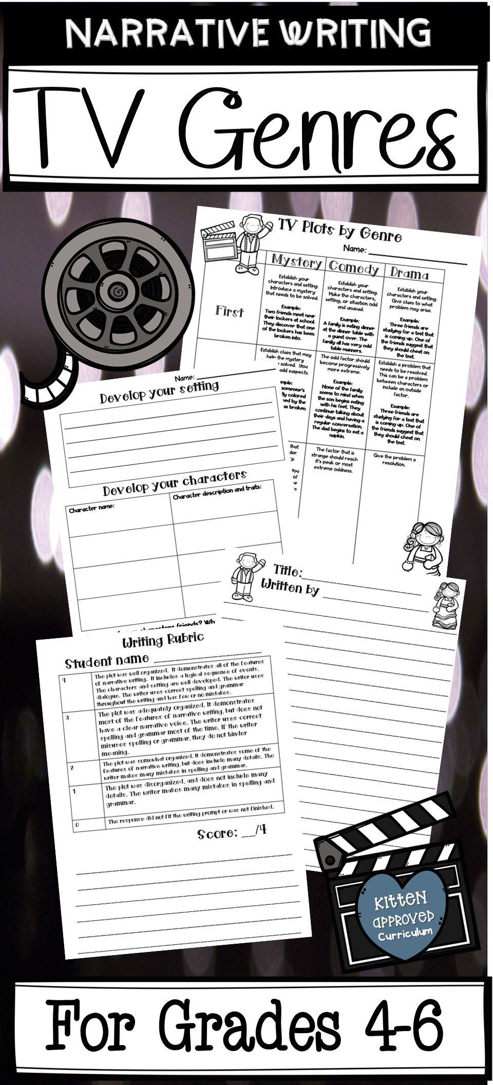 Narrative Writing Activity For 4th 5th Or 6th Grade Will Have Students Writing Their Ow Narrative Writing Narrative Writing Activities Fun Writing Activities