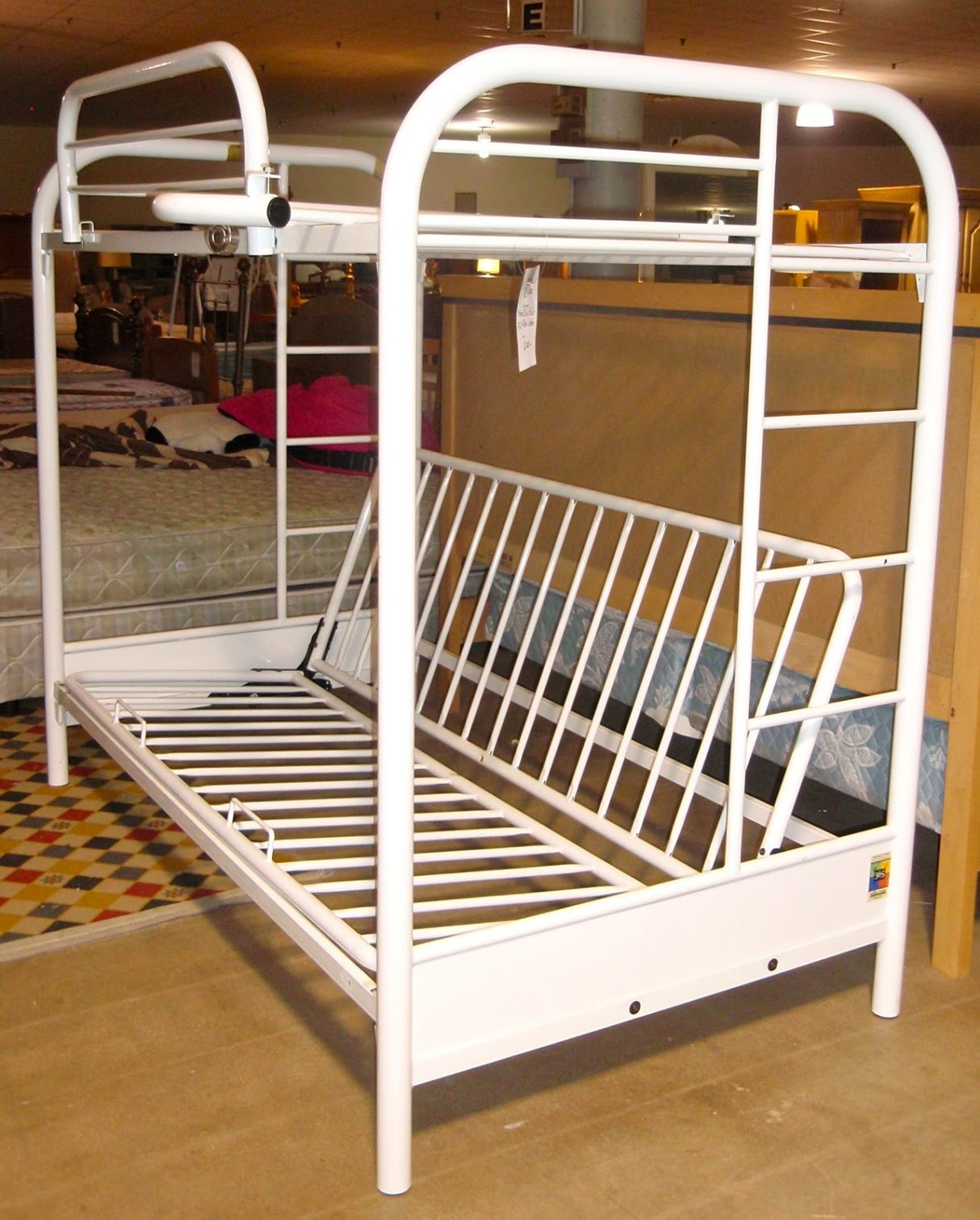 White Metal Futon Bunk Bed Most Por Interior Paint Colors Check More At Http