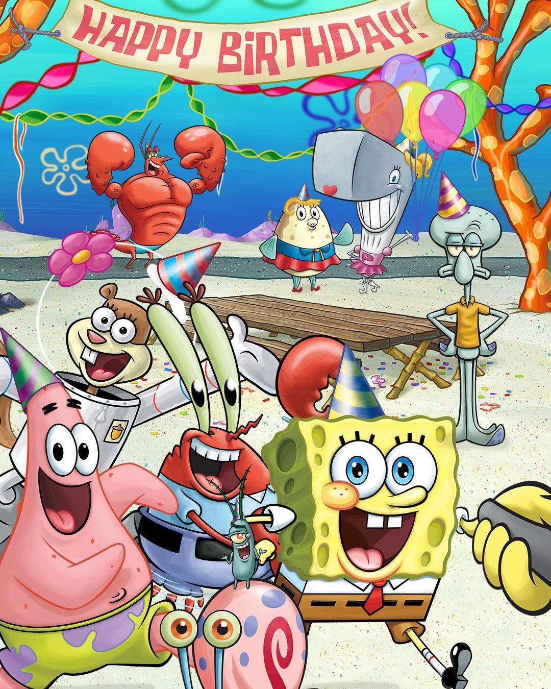 Spongebob SquarePants 20th Anniversary!