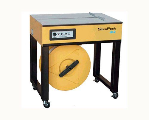 Strapack Allpurpose Durable Semiautomatic Tabletop Strapping Machine Jk2 You Can Find More Details By V With Images Adjustable Height Table Table Top Packaging Machinery