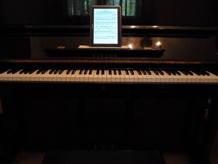 My piano!