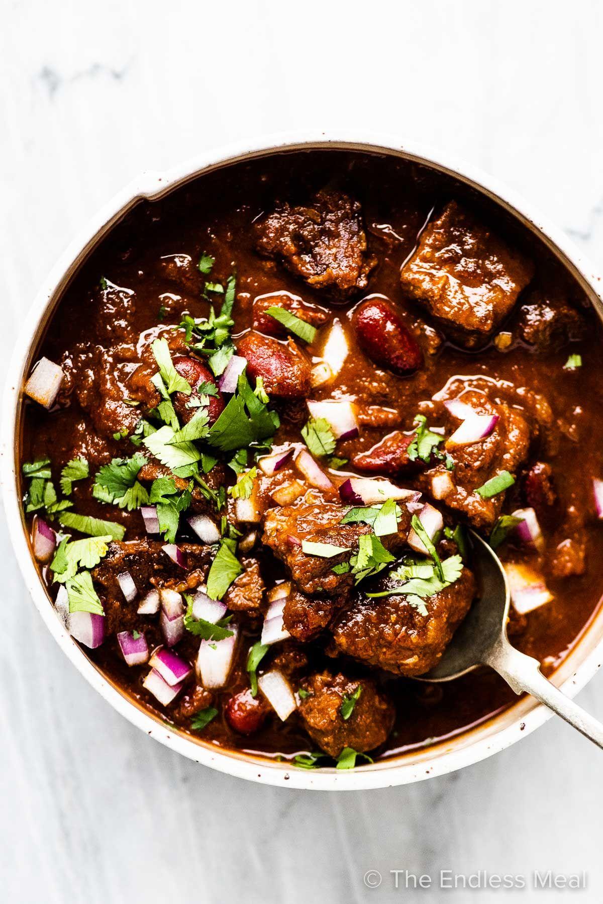 Best Steak Chili Recipe Recipe Best Steak Chili Recipe Steak Chili Chili Recipes