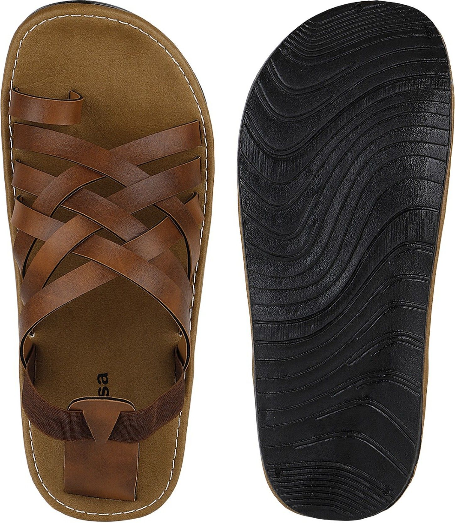 Black sandals online - Kraasa Men Black Sandals Buy Black Color Kraasa Men Black Sandals Online At Best Price