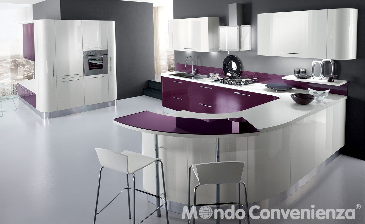 Cucina Nexa - - Mondo Convenienza - | Kitchen | Pinterest | Cucine ...