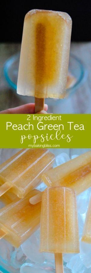 Photo of Peach Green Tea Popsicles