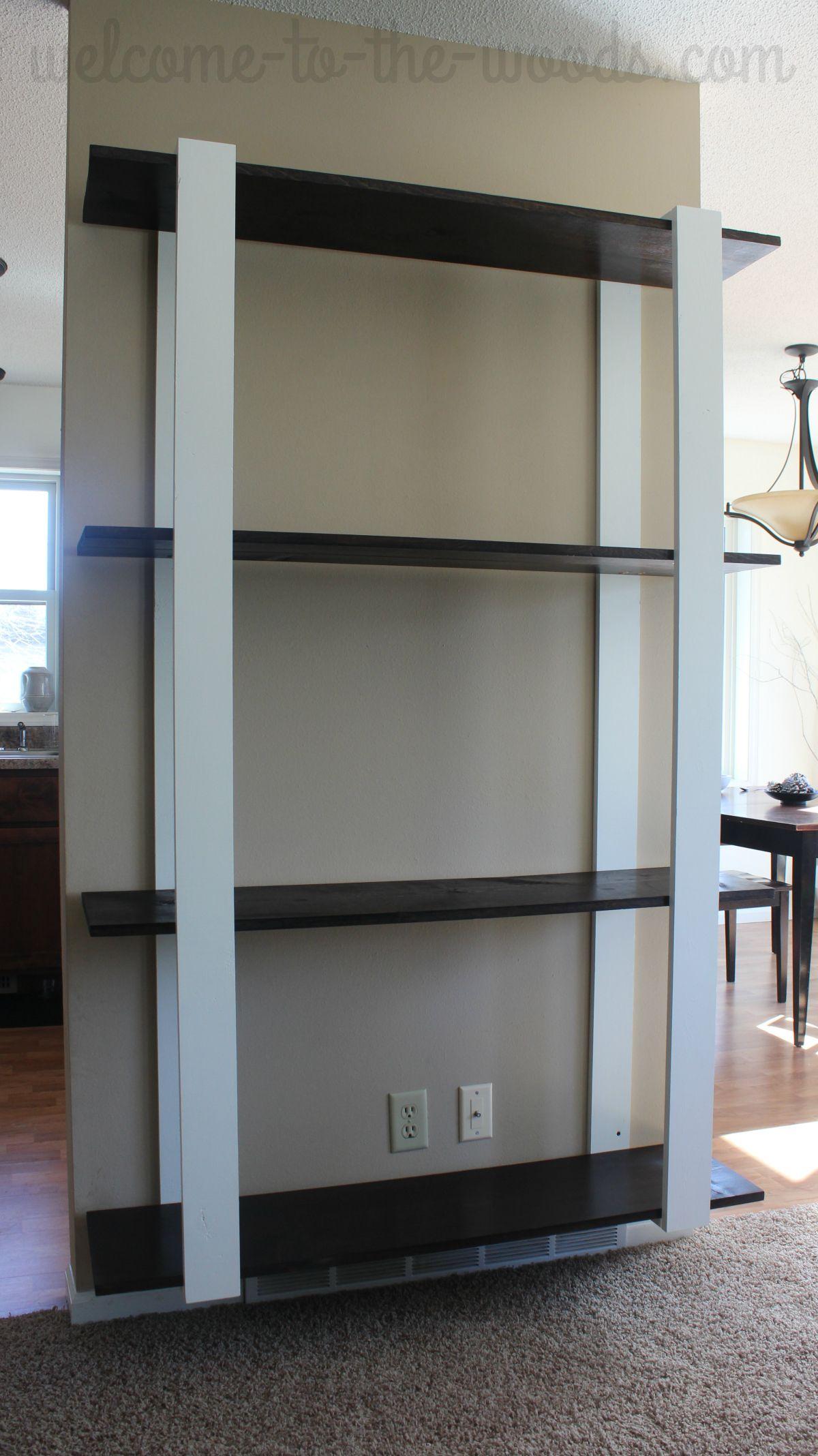 Modern DIY Shelves For Just $25 | Top Blogs - Pinterest Viral Board ...