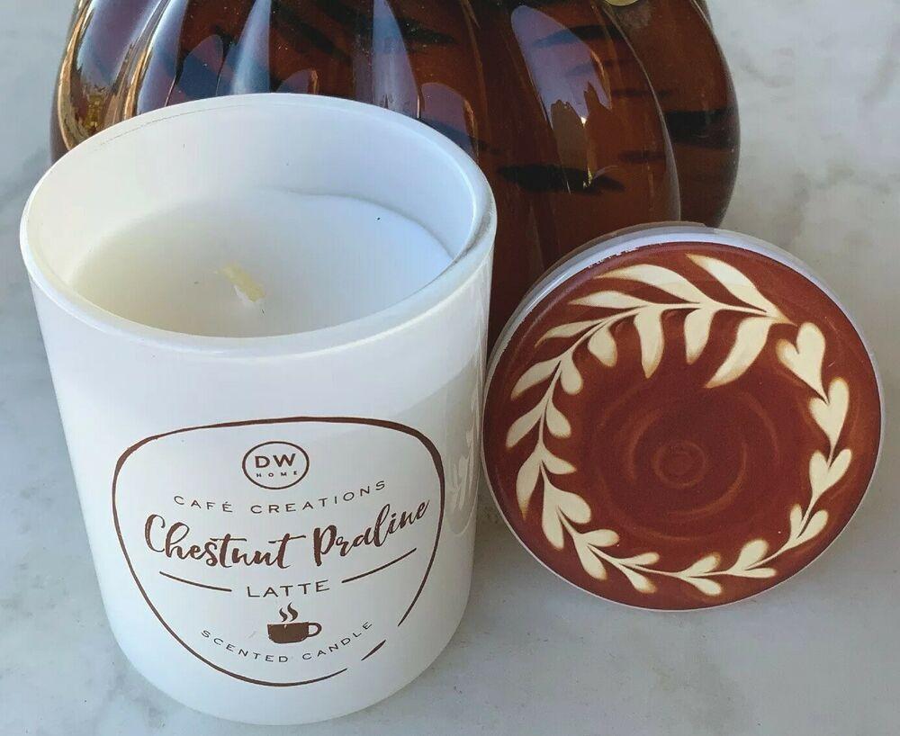 Dw Home Candle Chestnut Praline Cafe Creations Glass Jar 3 8oz