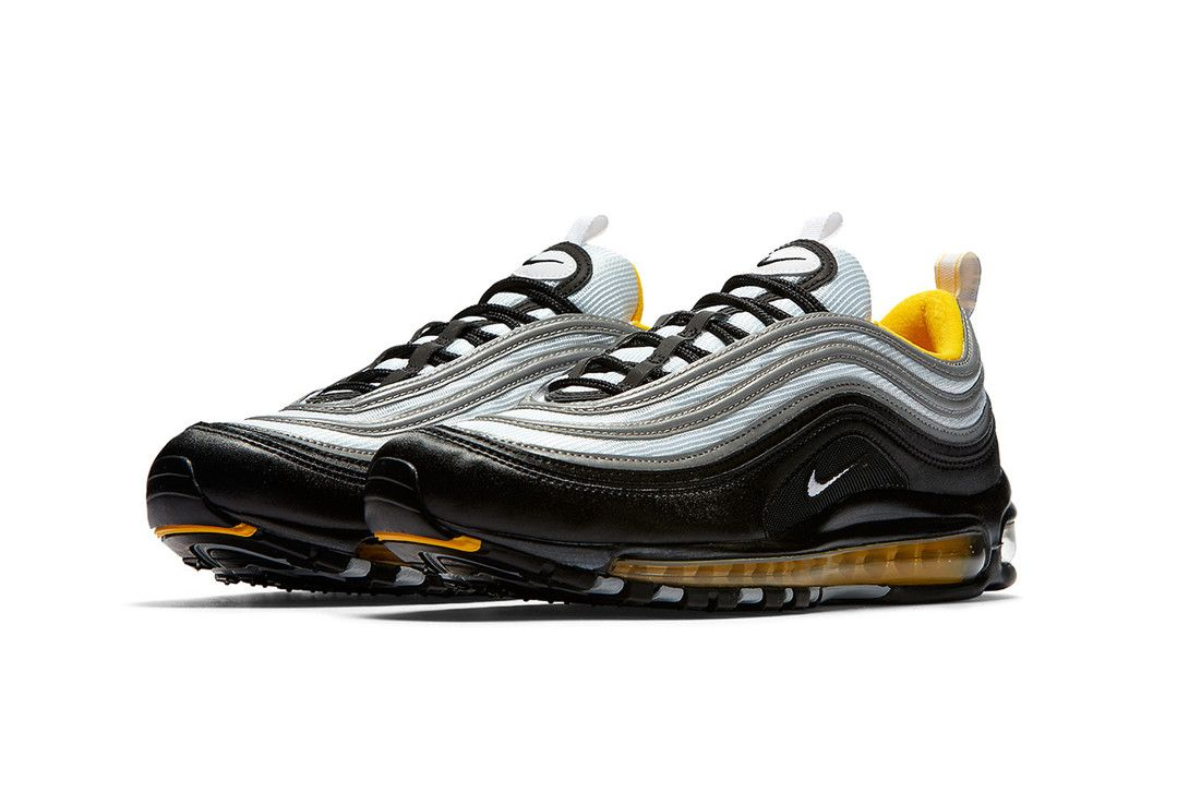 Polar Resaltar Incontable  Nike's Air Max 97 Utilizes the Popular Black & Yellow Combo in ...