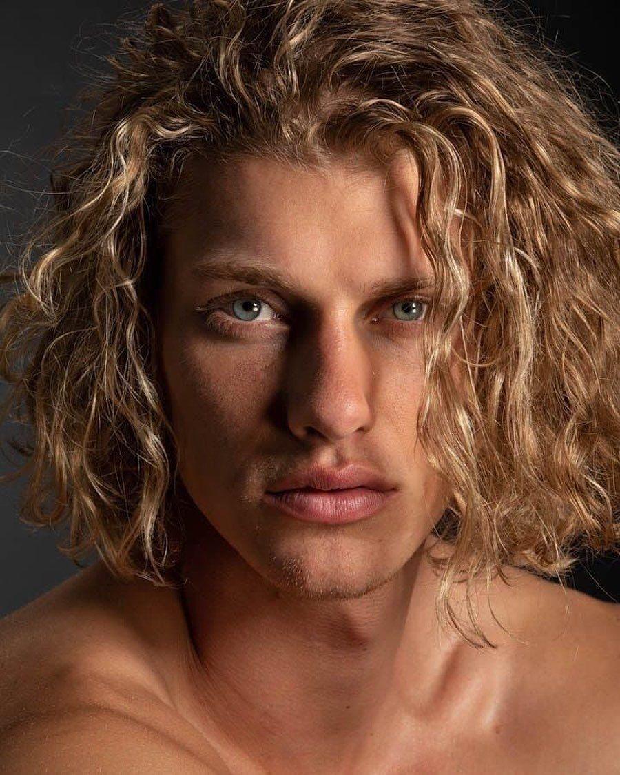 Long Hair Man Forever On Instagram Follow Use The Tag Longhairman4ever Longhai Curly Hair Men Boys Long Hairstyles Blonde Hair Boy