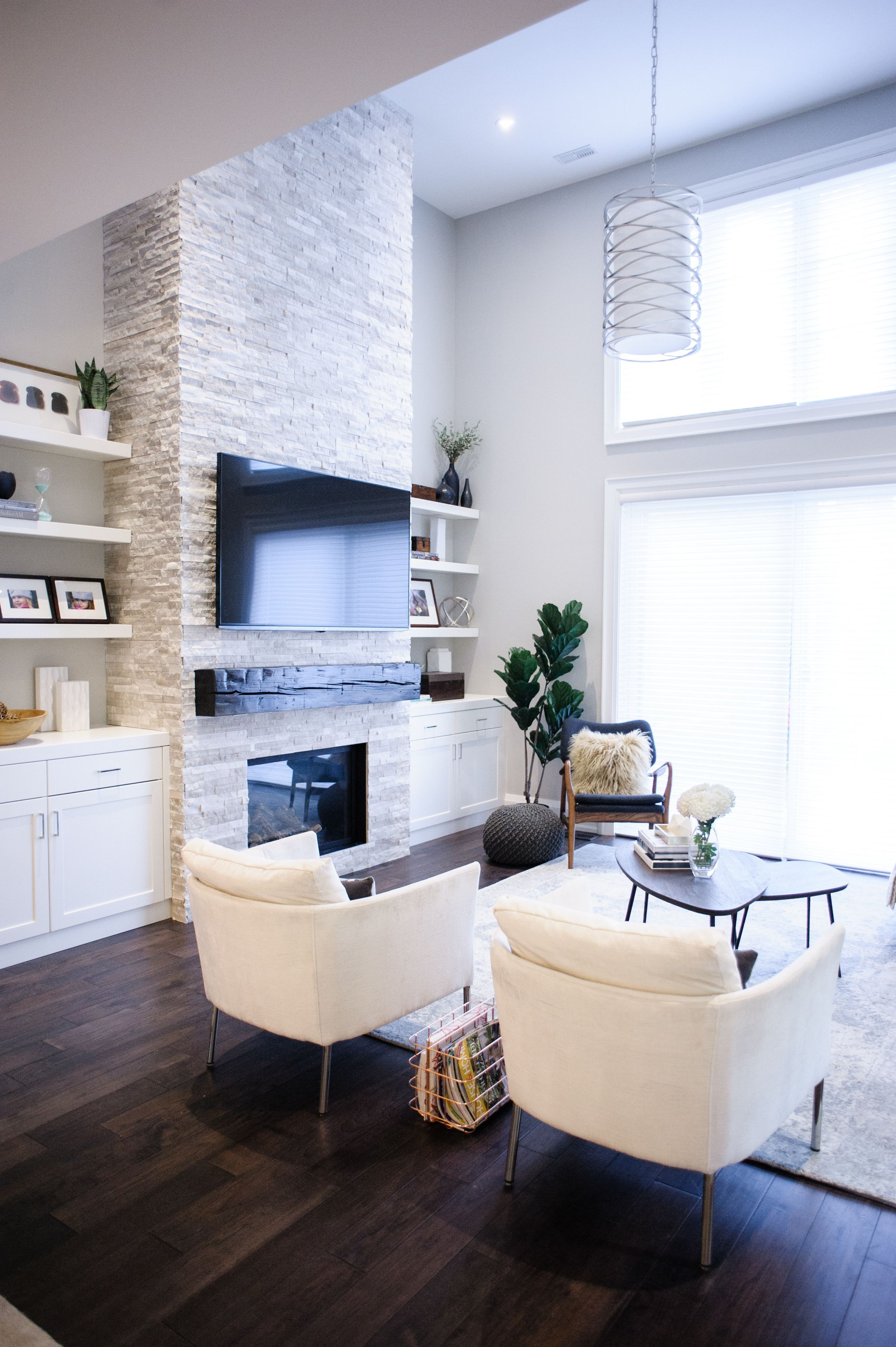 17 modern fireplace tile ideas for your best home design rh in pinterest com