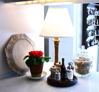 Kitchen Counter Lamps Soft Welcoming Light Leads The Way Small Lamps Small Table Lamp Table Lamps Kitchen