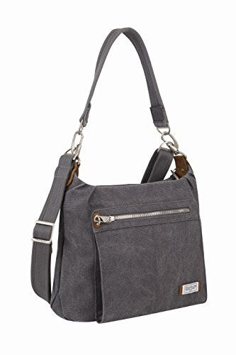 8098b42e5f Travelon Antitheft Heritage Hobo Bag Pewter One Size -- You can find out  more details at the link of the image.
