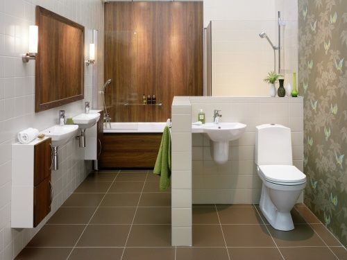 . How to Have a Simple Bathroom Interior Design    home decorating