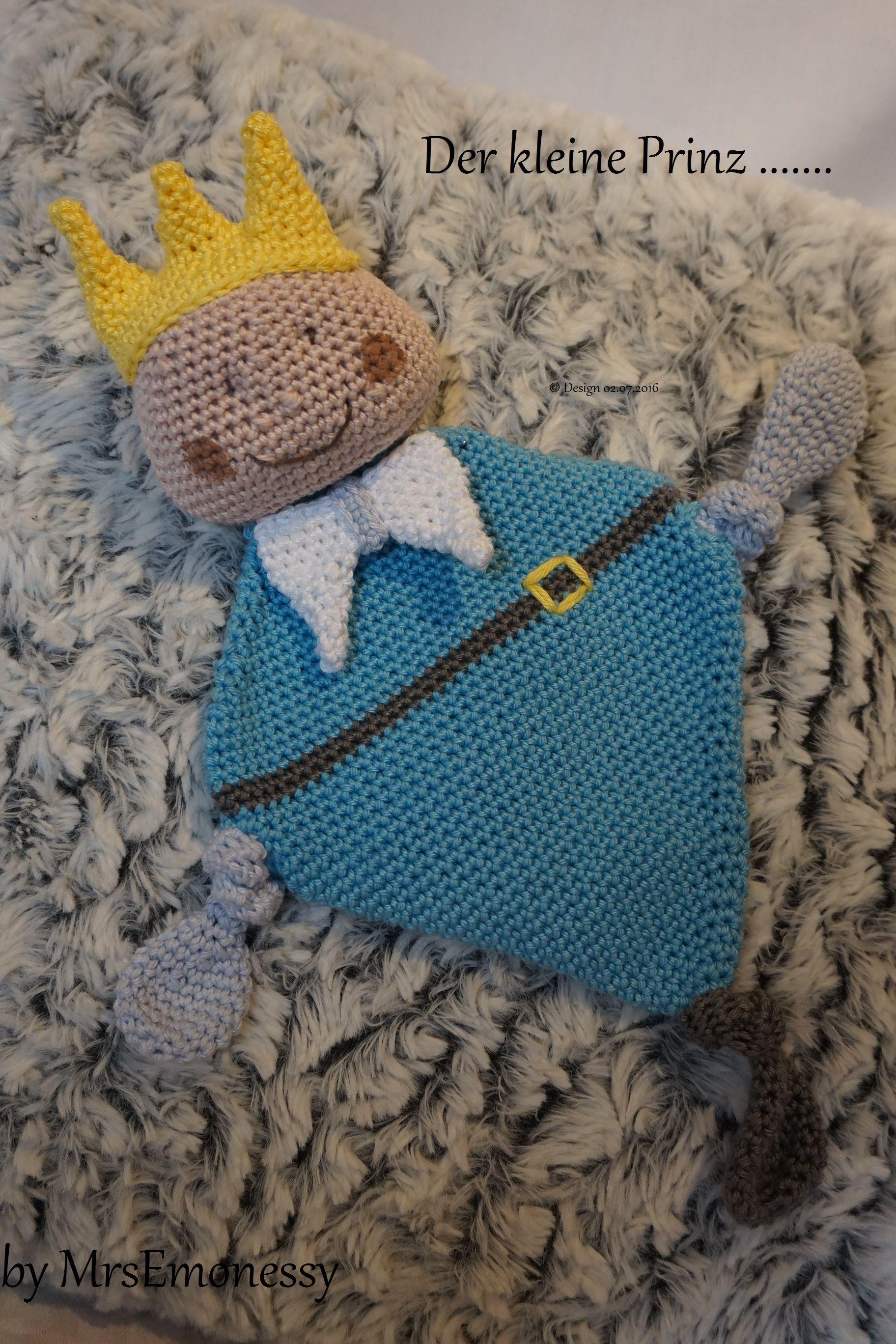Der kleine Prinz Schnuffeltuch http://www.mrsemonessy.de/Home ...